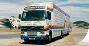 Enjoy peace of mind when moving with Northovers – we serve customers to and from Hampshire, Surrey, Berkshire & South West London